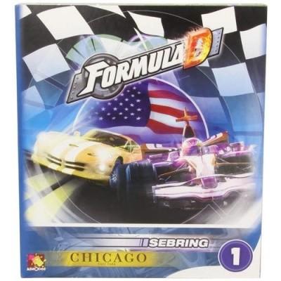 Thème : Véhicules Jeux de Plateau Formula D - Circuits Sebring / Chicago