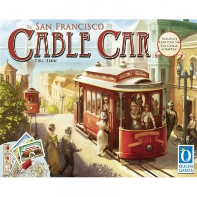 Thème : Véhicules Jeux de Plateau Cable Car