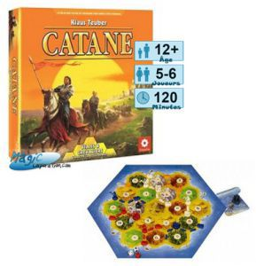 Catane Jeux de Plateau Les Colons De Catane - Villes Et Chevaliers (nouvelle édition)