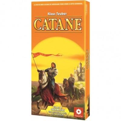 Catane Les Colons De Catane - Extension Villes Et Chevaliers Pour 5 Et 6 Joueurs (nouvelle édition)