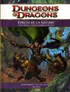 Nouveauté JdR Dungeons & Dragons 4 - Forces De La Nature