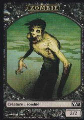 Tokens Magic Magic the Gathering Token/Jeton - Magic 2011 - Zombie