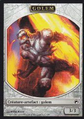 Tokens Magic Magic the Gathering Token/Jeton - Cicatrices De Mirrodin - Golem
