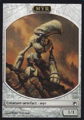 Tokens Magic Magic the Gathering Token/Jeton - Cicatrices De Mirrodin - Myr