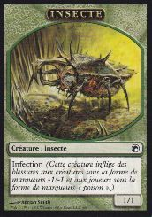 Tokens Magic Magic the Gathering Token/Jeton - Cicatrices De Mirrodin - Insecte