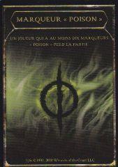 """Tokens Magic Accessoires Pour Cartes Token/Jeton - Cicatrices De Mirrodin - Compteur """"poison"""""""