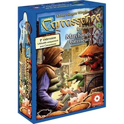 Carcassonne Jeux de Plateau Carcassonne 2 - Marchands Et Bâtisseurs