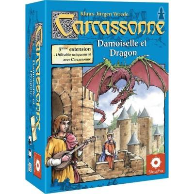 Carcassonne Jeux de Plateau Carcassonne 4 - Princesse Et Dragon