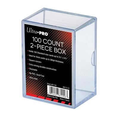 Boite de Rangement  Cloche 100 - Transparent