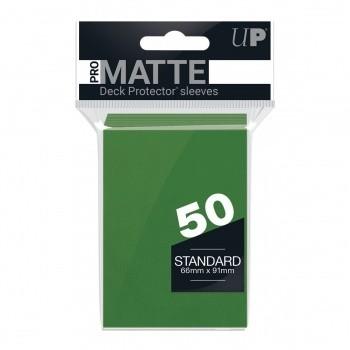 Protèges Cartes Accessoires Pour Cartes 50 pochettes - Pro Matte - Vert