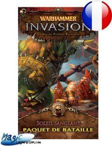 Warhammer Invasion Cycle Ennemi - Soleil Sanglant