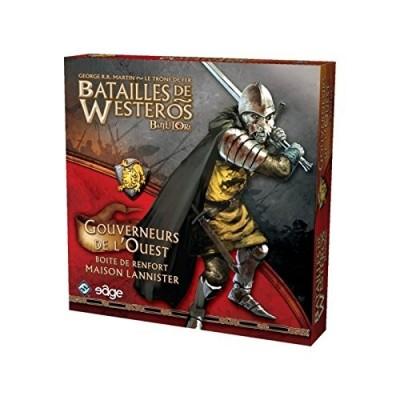 Thème : Médiéval Jeux de Plateau Batailles de Westeros - Gouverneurs de l'Ouest - (Game of Thrones)