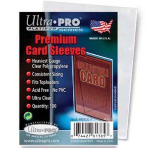 Protèges Cartes Accessoires Pour Cartes 100 pochettes - Souples Premium