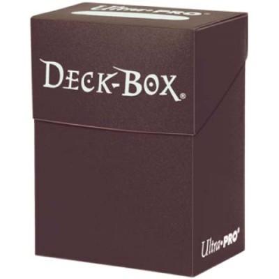Boites de Rangements Accessoires Pour Cartes Deck Box Ultra Pro Polydeck - Marron