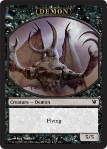 Token Magic Magic the Gathering Token/Jeton - Innistrad - Démon