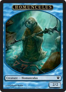 Tokens Magic Magic the Gathering Token/Jeton - Innistrad - Homoncule