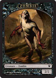 Token Magic Token/Jeton - Innistrad - Zombie N°7