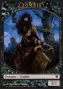 Tokens Magic Accessoires Pour Cartes Token/Jeton - Innistrad - Zombie N°8