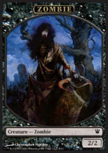 Tokens Magic Magic the Gathering Token/Jeton - Innistrad - Zombie N°8