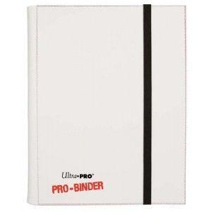 Classeurs et Portfolios Accessoires Pour Cartes Portfolio Ultra Pro - A4 Classeur Pro-Binder - Blanc