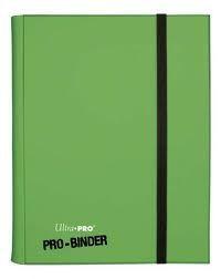 Classeurs et Portfolios Accessoires Pour Cartes Portfolio Ultra Pro - A4 Classeur Pro-Binder - Vert Clair - ACC