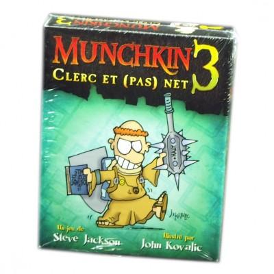 Munchkin Petits Jeux Munchkin - 3 - Clerc et (pas) net