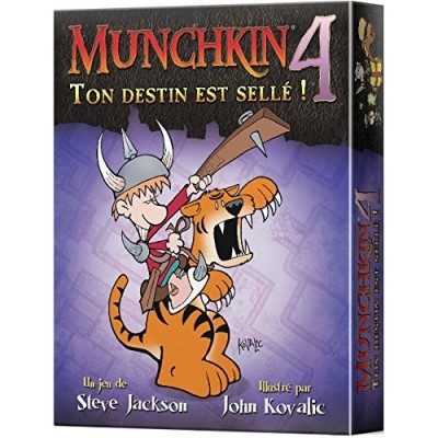 Munchkin Petits Jeux Munchkin - 4 - Ton destin est scellé!