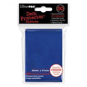 Protèges Cartes 50 pochettes - Deck Protector - Bleu