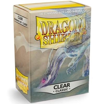 Protèges Cartes Accessoires Pour Cartes 100 pochettes Dragon Shield - Clear (transparent) - ACC