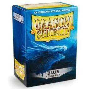 Protèges Cartes Accessoires Pour Cartes 100 pochettes Dragon Shield - Blue (bleu) - ACC