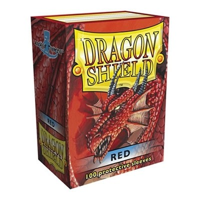 Protèges Cartes 100 pochettes - Red