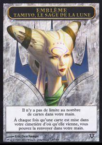 Tokens Magic Accessoires Pour Cartes Token/Jeton - Avacyn Ressuscitée - Emblème Tamiyo