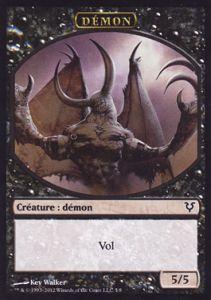 Tokens Magic Accessoires Pour Cartes Token/Jeton - Avacyn Ressuscitée - Démon