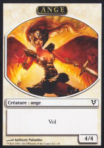 Tokens Magic Magic the Gathering Token/Jeton - Avacyn Ressuscitée - Ange