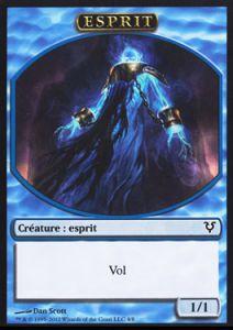 Tokens Magic Accessoires Pour Cartes Token/Jeton - Avacyn Ressuscitée - Esprit Bleu