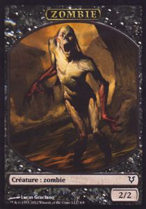 Tokens Magic Magic the Gathering Token/Jeton - Avacyn Ressuscitée - Zombie