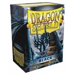 Protèges Cartes 100 pochettes Dragon Shield - Black (noir) - ACC