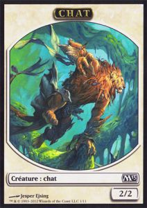 Tokens Magic Magic the Gathering Token/Jeton - Magic 2013 - 01/11 Chat