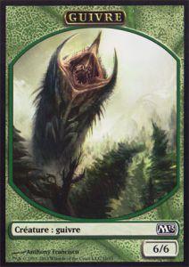 Tokens Magic Magic the Gathering Token/jeton - Magic 2013 - 10/11 Guivre