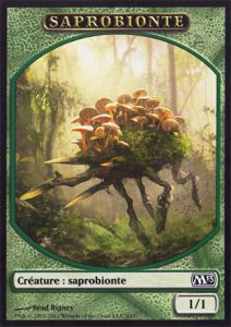 Tokens Magic Magic the Gathering Token/Jeton - Magic 2013 - 09/11 Saprobionte