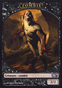 Tokens Magic Magic the Gathering Token/Jeton - Magic 2013 - 05/11 Zombie