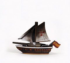 Pirates of the Spanish Main SS-002 - La Santa Teresa (Ship) - Pirates of the Spanish Main