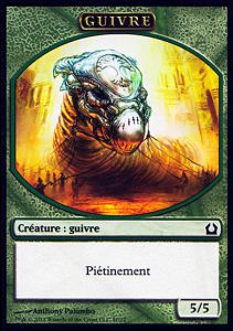 Tokens Magic Magic the Gathering Token/Jeton - Retour Sur Ravnica - 11 Guivre