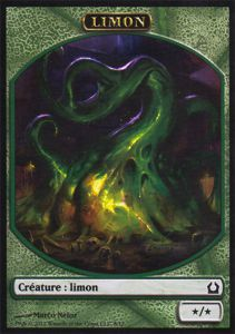 Tokens Magic Magic the Gathering Token/Jeton - Retour Sur Ravnica - 08 Limon