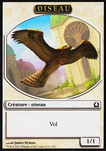 Tokens Magic Magic the Gathering Token/Jeton - Retour Sur Ravnica - 01 Oiseau