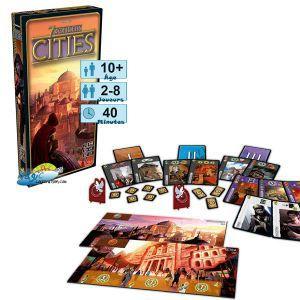 7 Wonders Jeux de Plateau 7 Wonders - Cities