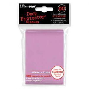 Protèges Cartes  50 pochettes - Deck Protector - Rose