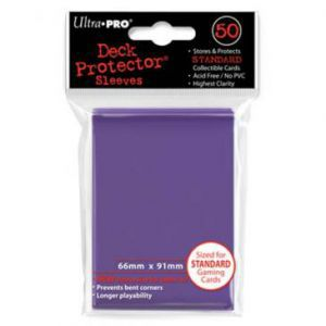 Protèges Cartes Accessoires Pour Cartes 50 pochettes - Deck Protector - Violet