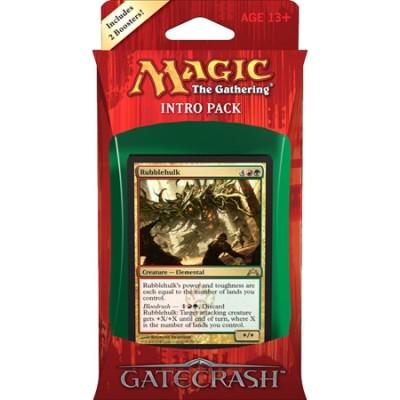 Decks Préconstruits Magic the Gathering Gatecrash - Rouge/Vert - Intro Pack Deck - Gruul Goliaths