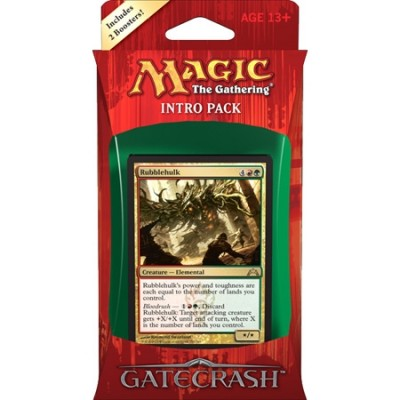 Decks Magic the Gathering Gatecrash - Rouge/Vert - Intro Pack Deck - Gruul Goliaths